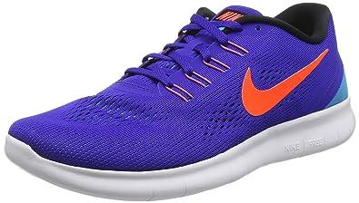 more photos 6fd86 b5e3a Nike Free, Running Homme, (Bleu Orange Blanc), 41 EU