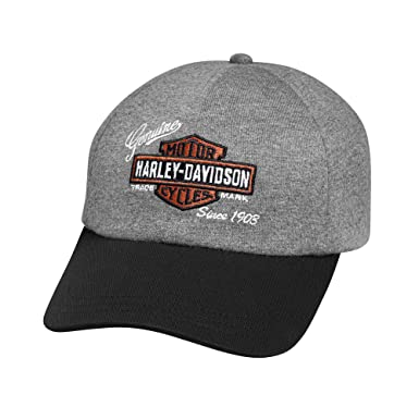 d85b9aba791 Harley-Davidson Official Women s Embroidered Logo Jersey Cap
