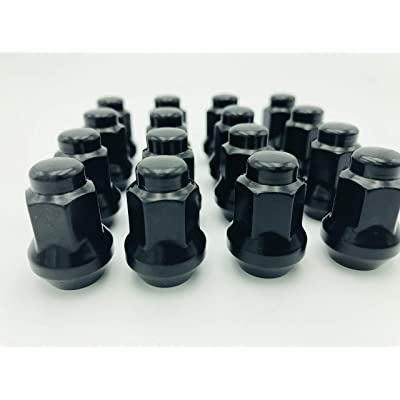 3/8-24 Tapered Lug Nuts Black Polaris Ranger 700 Rzr 900 xp 800 S 570 (16): Automotive [5Bkhe2010996]
