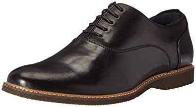 Steve Madden Men's Nunan Oxford, Black, ...