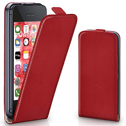 Amazon.com: Funda con tapa para iPhone 5/5S/se: Cell Phones ...