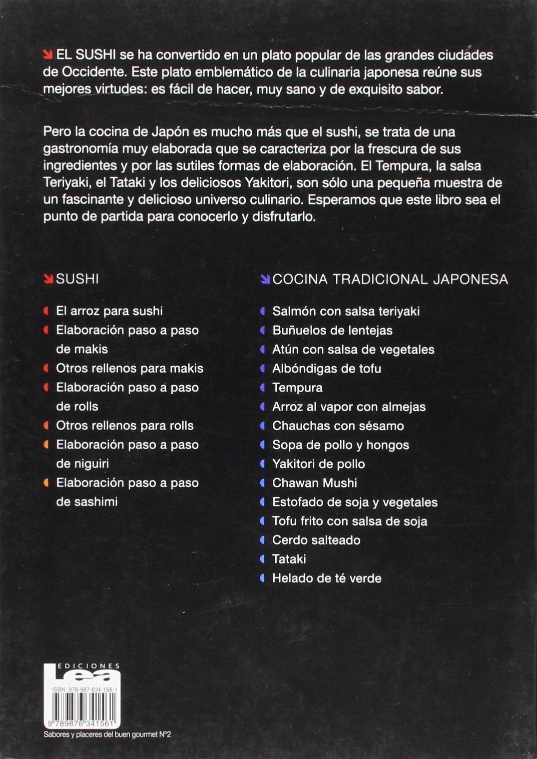 Sushi y cocina tradicional japonesa (Spanish Edition): Christina Sunae: 9789876341561: Amazon.com: Books