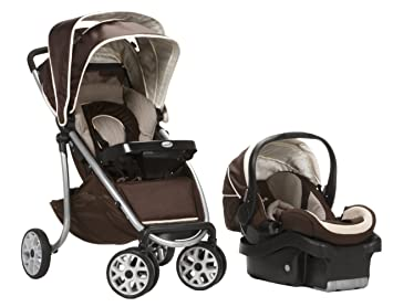 Safety 1st Aerolite LX Deluxe Travel System Avery