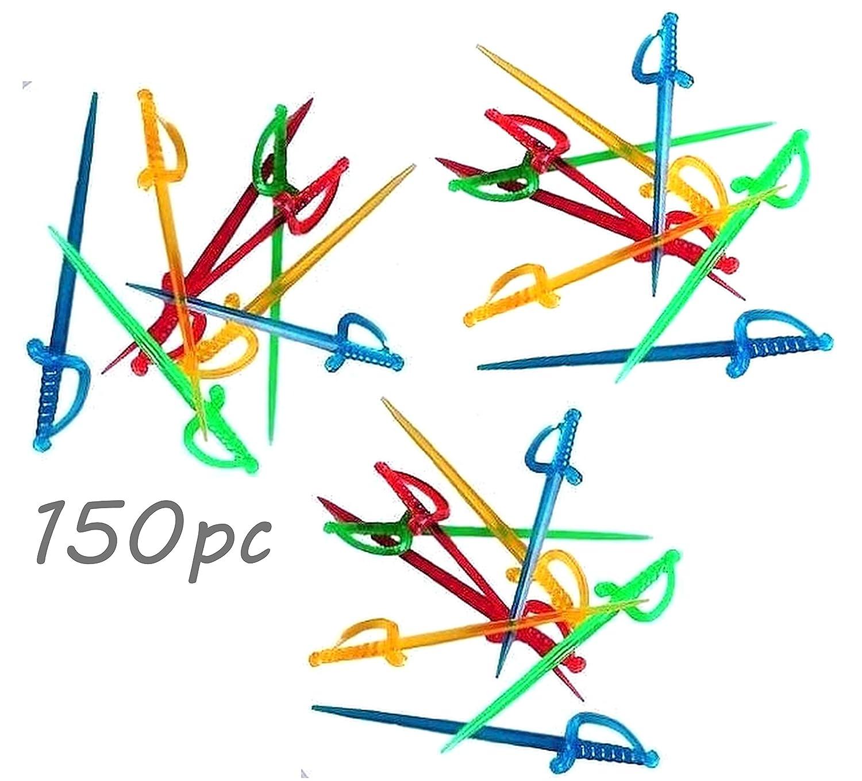 150pc Neon colors BPA-FREE Transparent SWORD 3