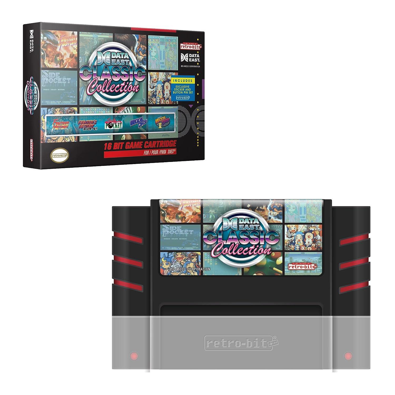 Data East Classic Collection SNES Cartridge - Super NES: Amazon co