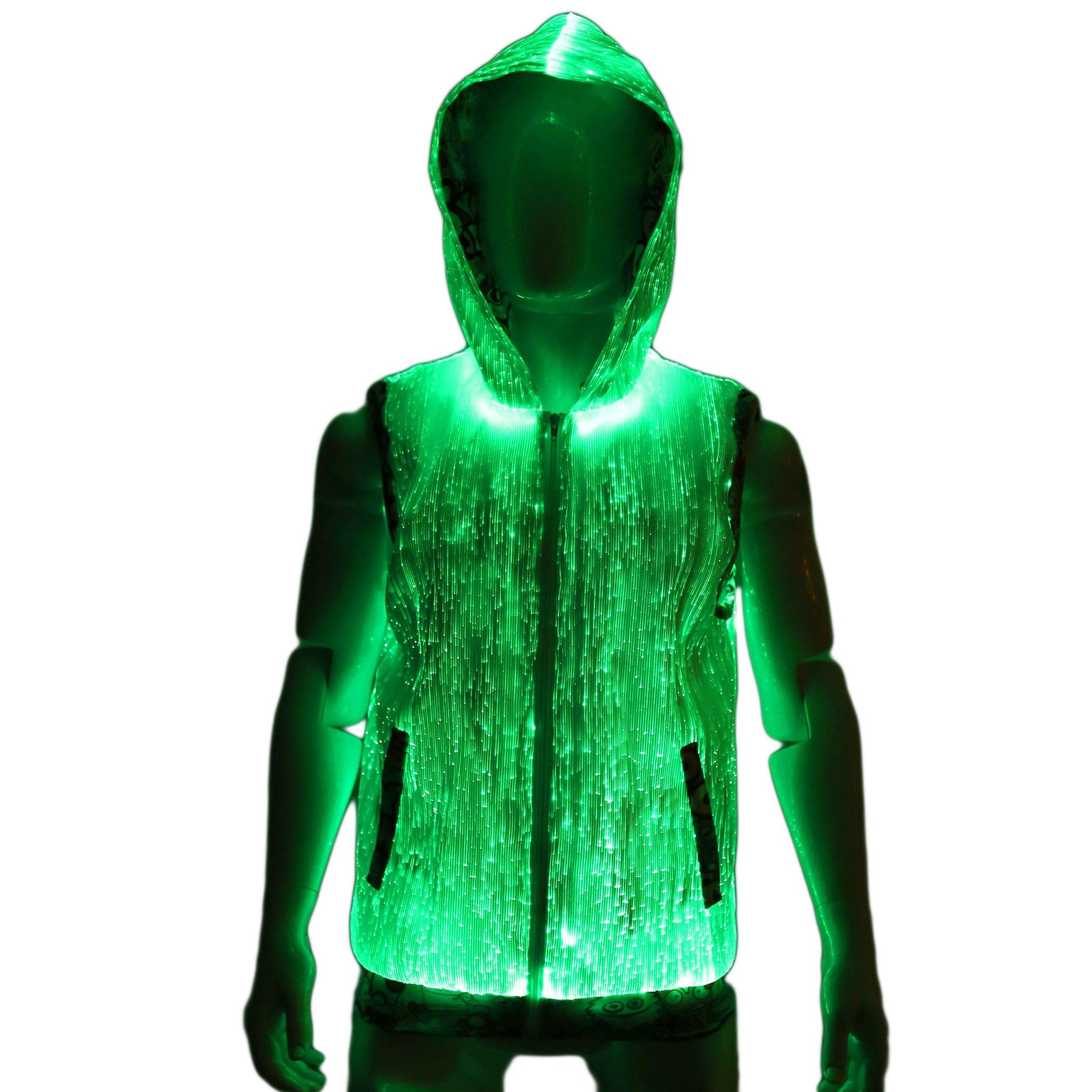 Burning Man Clothing Cool Hoodies for Guys Rave Costumes for Guys Mens Rave Wear Cool Hoodies for Guys GXSE9