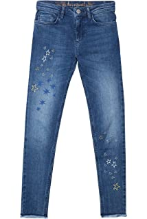 70% Dto.!) Desigual Irene Jeans Azul Denim Medium Wash 5053