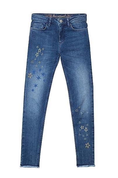 Desigual Pantalones Vaqueros, Denim Michelle: Amazon.es ...