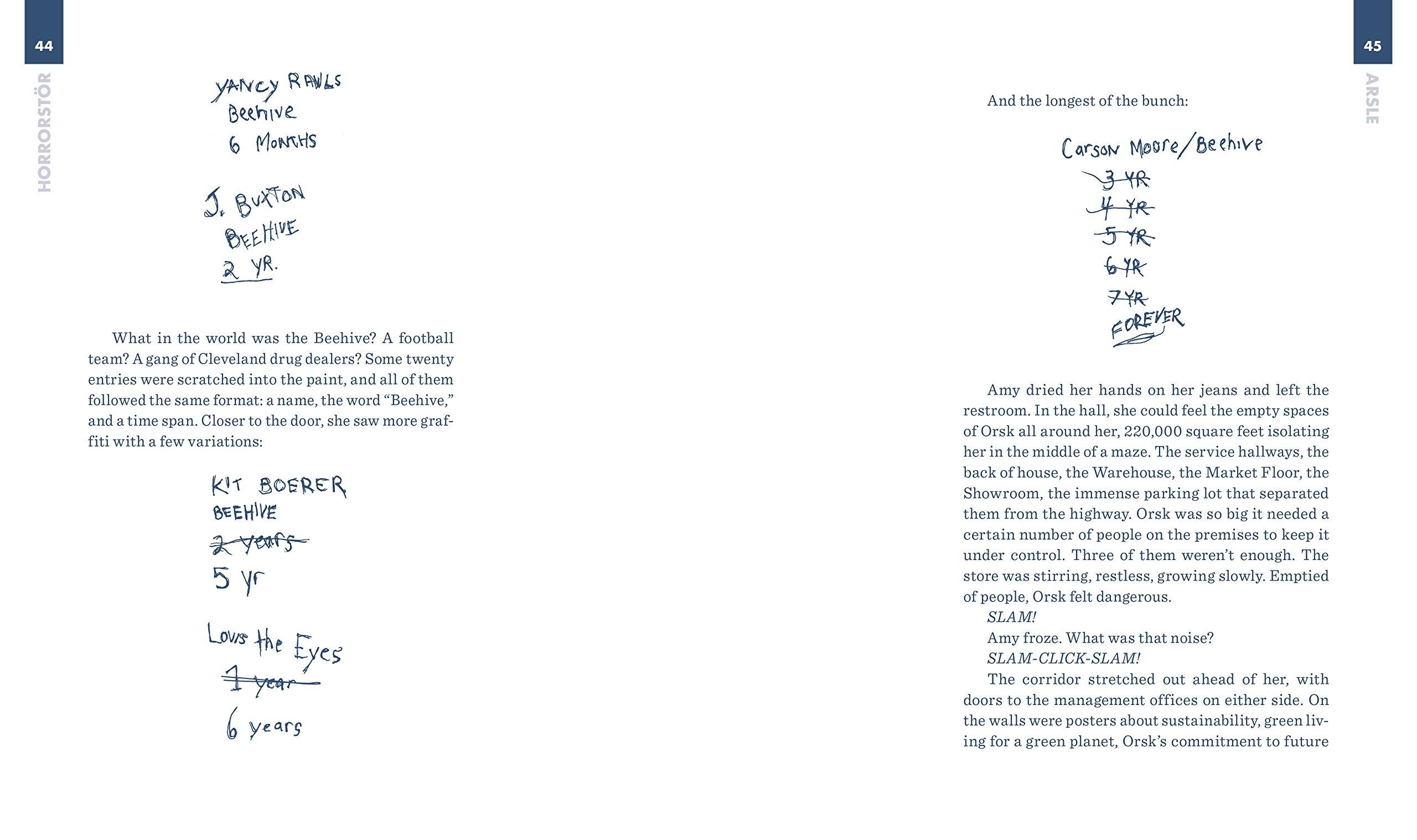 Horrorstor: A Novel: Amazon.de: Grady Hendrix: Fremdsprachige Bücher Gute Bettwasche Wirklich Ausmacht
