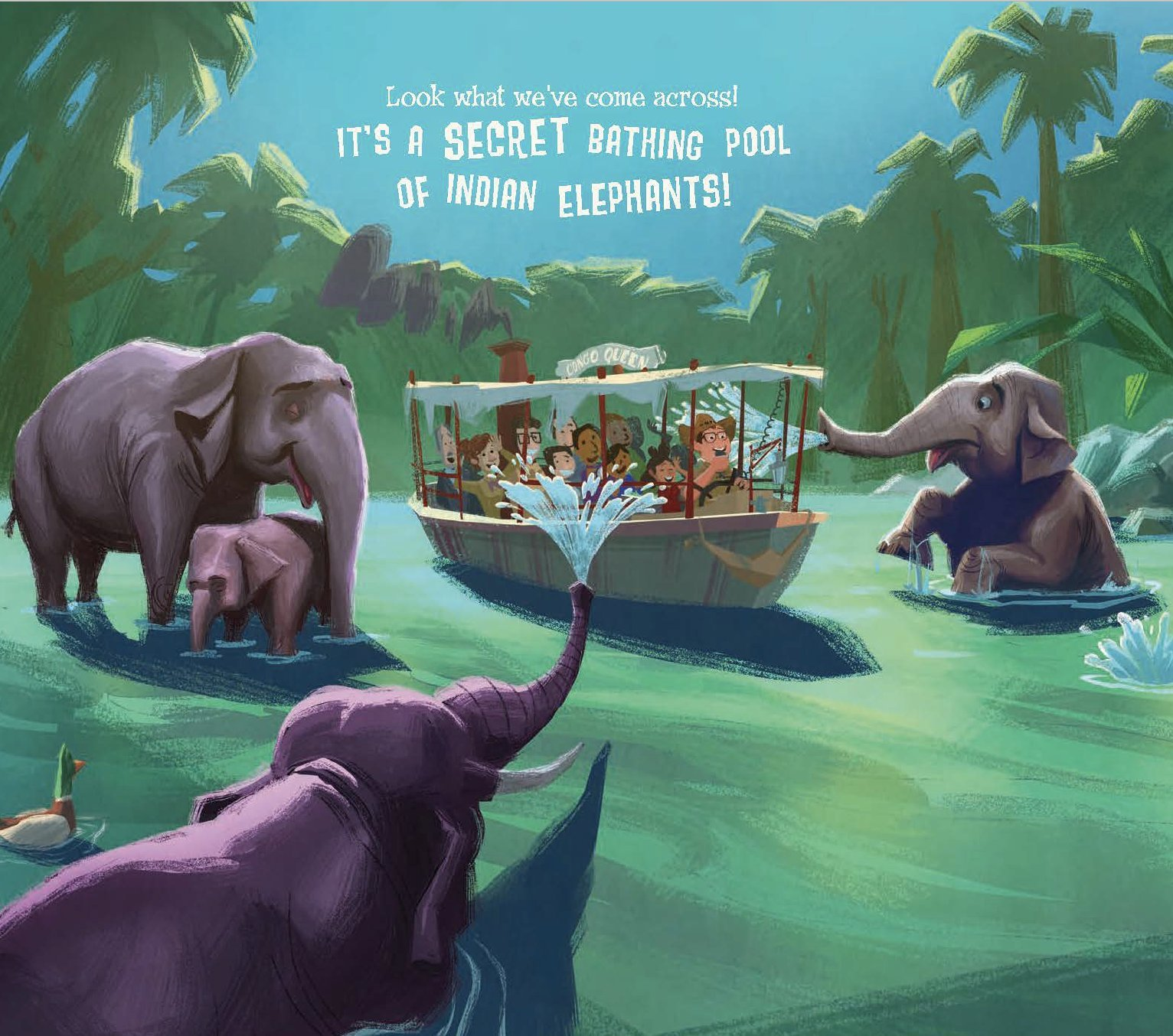 Disney Parks Presents: Jungle Cruise: Purchase Includes a CD with Narration! by Disney Press (Image #4)
