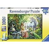 Ravensburger 10559 5 - nel Regno degli Unicorni Puzzle Super, 100 Pezzi, Cartone