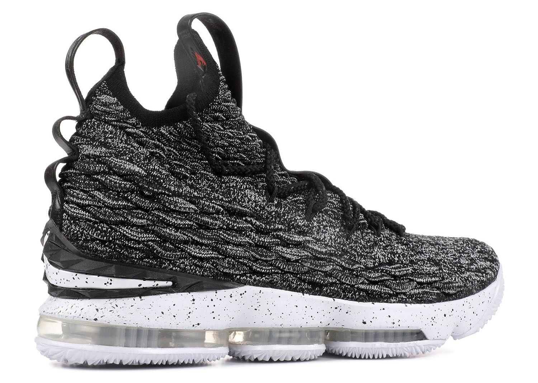 e84497e296c BSTBLL Lebron 15 Ashes Black White Mens Basketball Shoes: Amazon.co ...