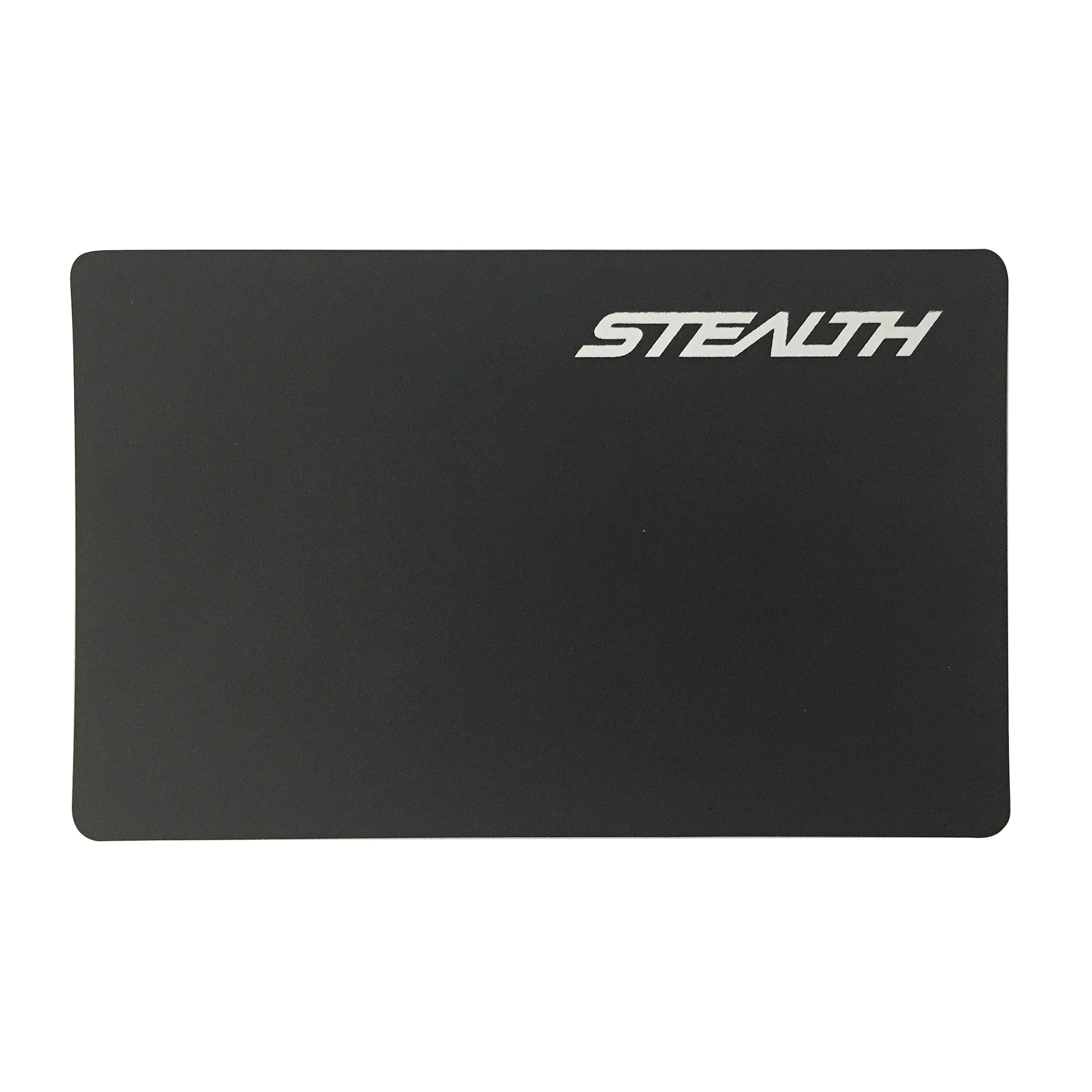 Stealth Card RFID Blocker Card - Identity Protection Card for Id's, Passports and Chip Bank Cards - 1 Stealth RFID Wallet Insert Card Protects Up to 12 Chipped Credit Cards (Black)