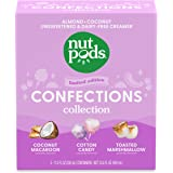nutpods Confections Collection, (3-Pack), Unsweetened Dairy-Free Creamer, Made from Almonds and Coconuts, Gluten Free, Non-GM