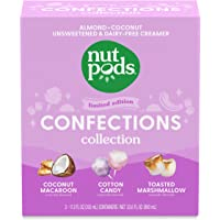 nutpods Confections Collection, (3-Pack), Unsweetened Dairy-Free Creamer, Made from Almonds and Coconuts, Gluten Free…