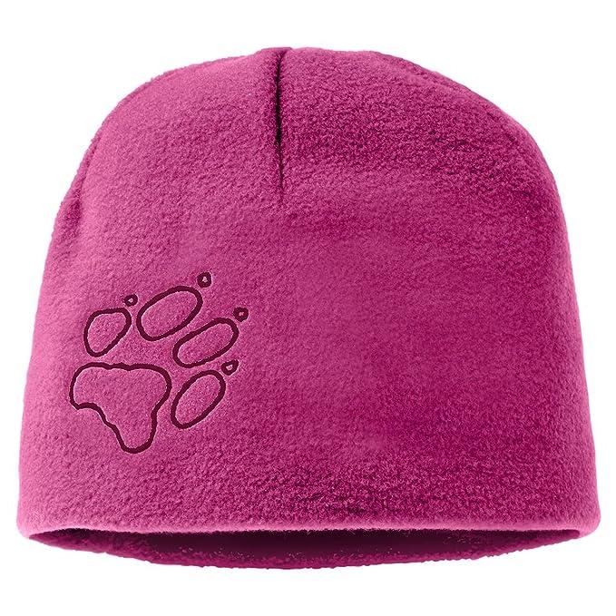 Camping & Outdoor Jack wolfskin stormlock Fleece Mütze schwarz Pink Schön Kids M gefüttert Damen