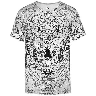 Blowhammer T-Shirt Herren - Calaca  Amazon.de  Bekleidung b4e67aaa57