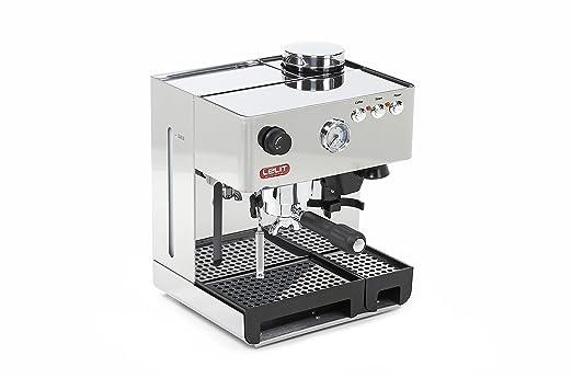 Lelit PL042EM - Cafetera (Independiente, Máquina espresso, 3,5 L, Molinillo integrado, 1200 W, Acero inoxidable)