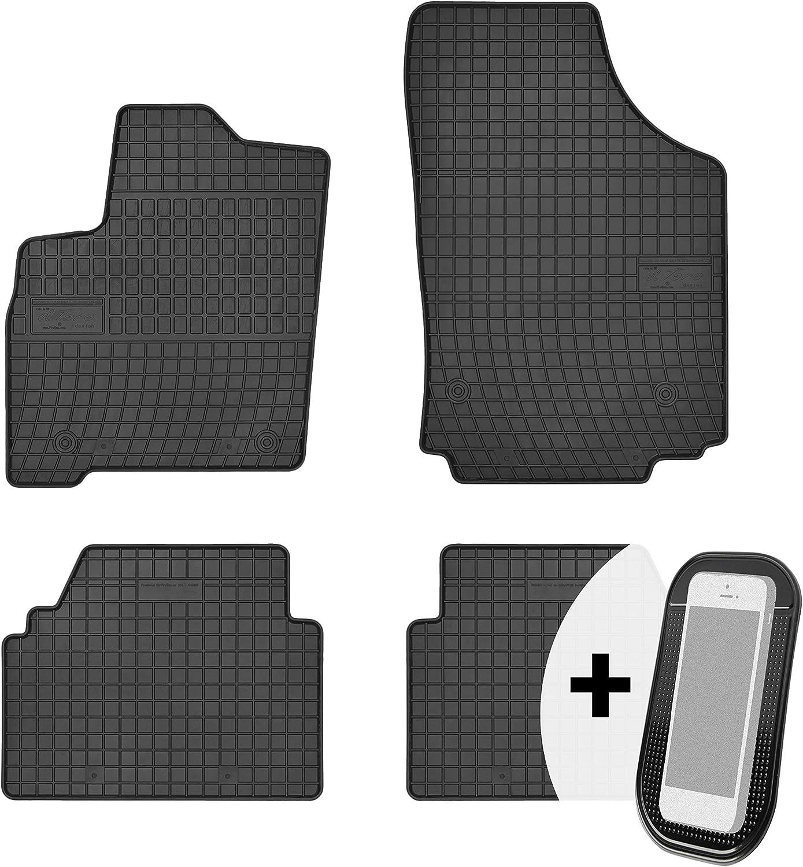 Gummimatten Auto Fußmatten Gummi Automatten Passgenau 4 Teilig Set Passend Für Opel Meriva A 2003 2010 Auto