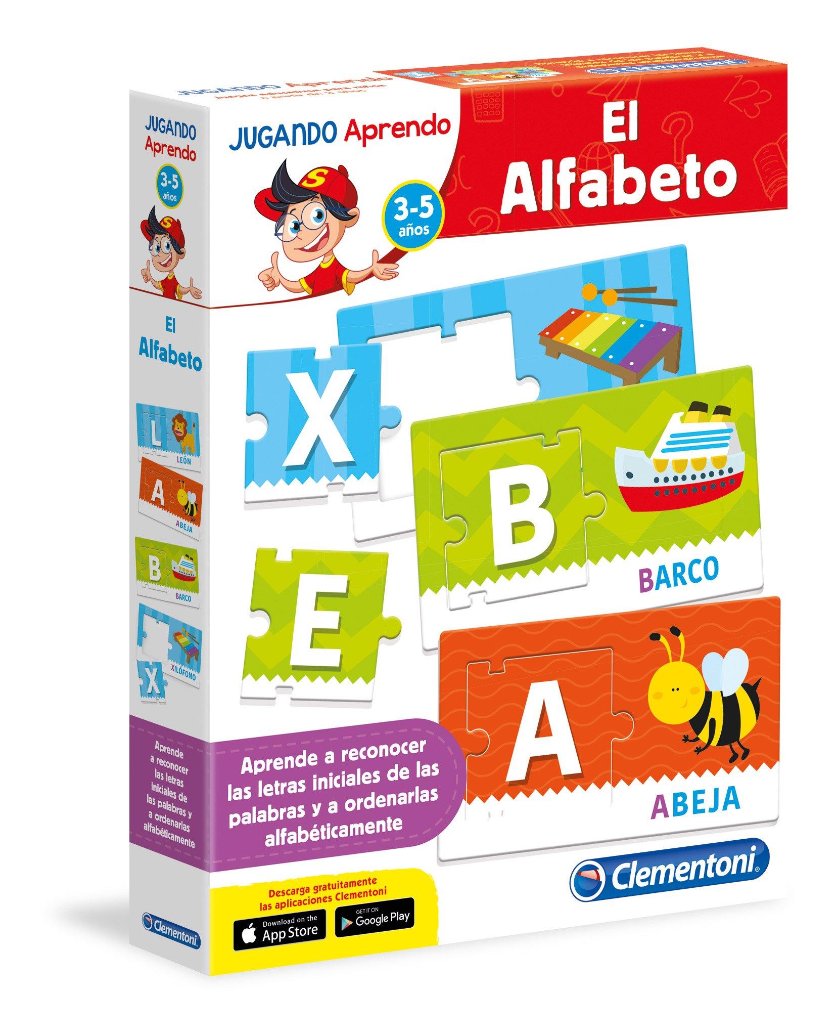 Clementoni - El Alfabeto, juego educativo (65594.6) product image
