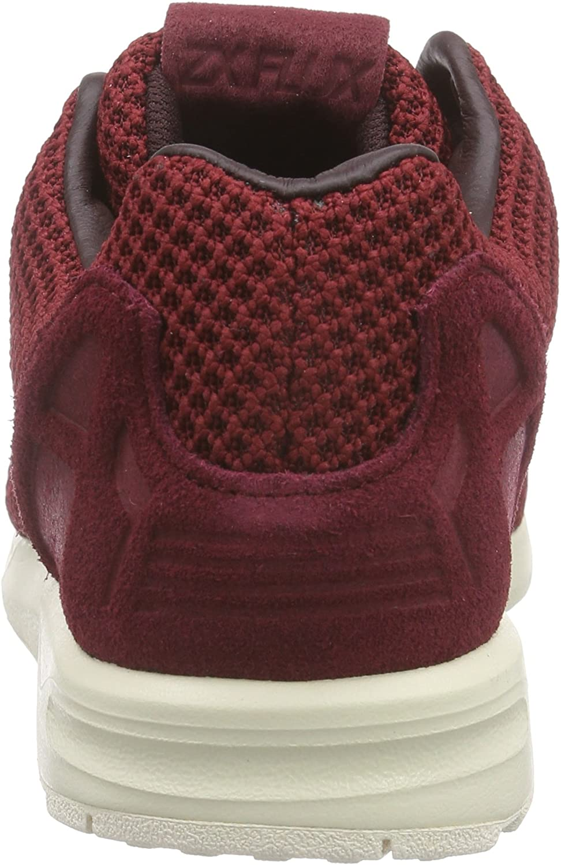 adidas ZX Flux, Espadrilles Homme Rouge Collegiate Burgundy Night Red Chalk White