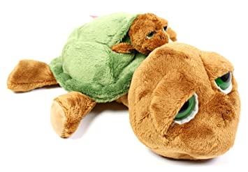 Russ Berrie Lil Peepers Shelby - Mamá y bebé tortugas de peluche