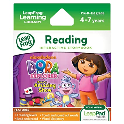 LeapFrog LeapPad Doras Amazing Show Ultra EBook Works With All Tablets