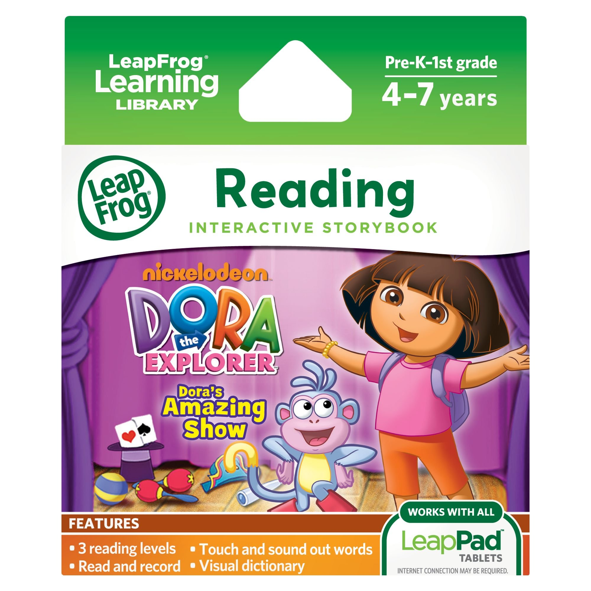 LeapFrog LeapPad Dora's Amazing Show Ultra eBook (works with all LeapPad tablets) by LeapFrog (Image #1)