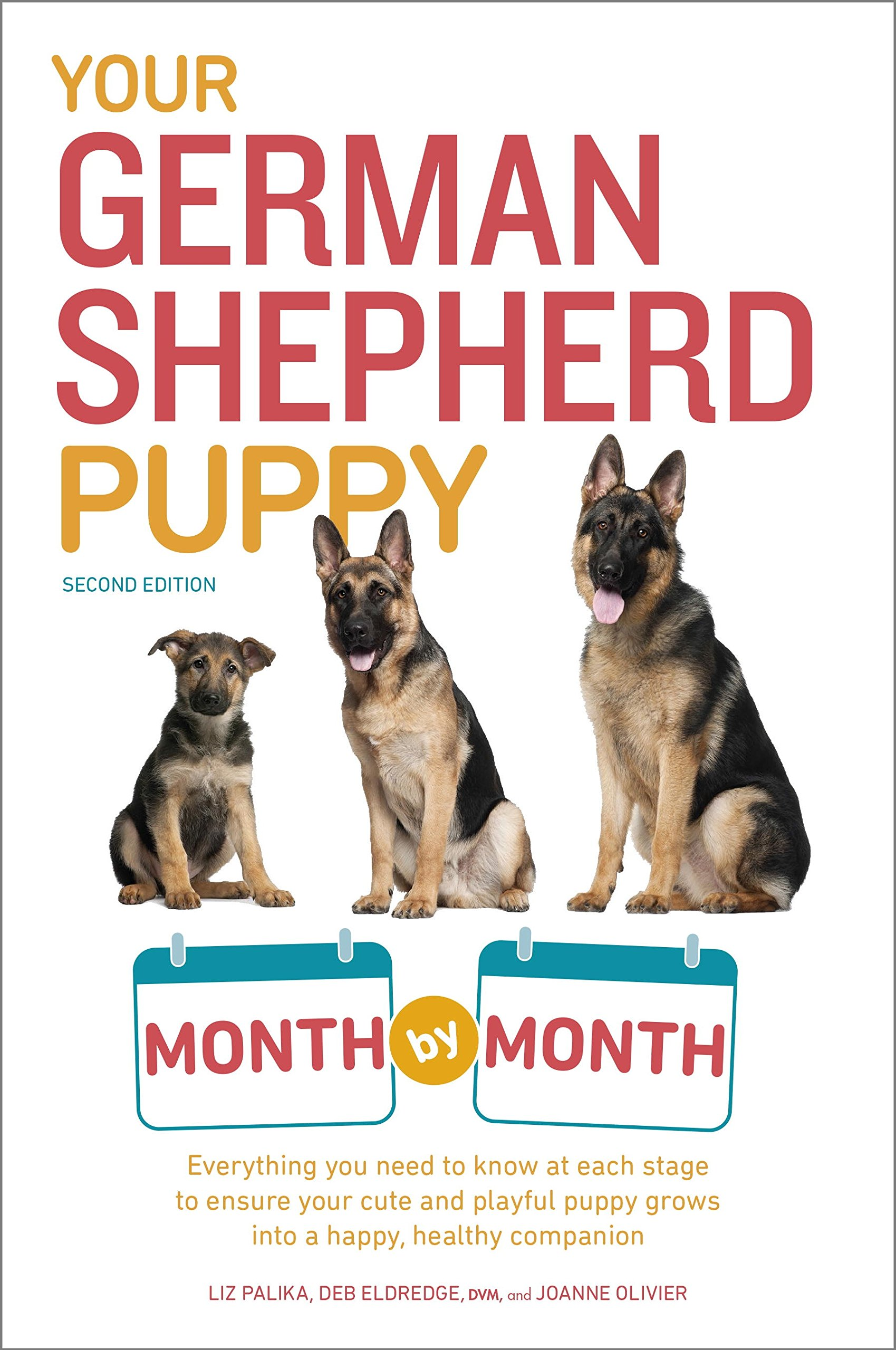 Your German Shepherd Puppy Month by Month, 2nd Edition: Everything You Need to Know at Each State to Ensure Your Cute and Playful Puppy (Your Puppy Month by Month) 2