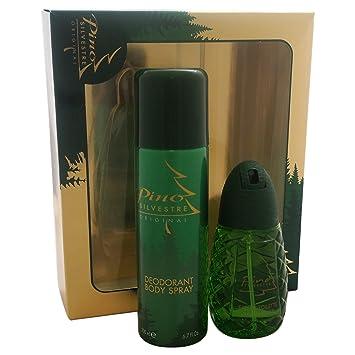 125 Original Spray HommeParfum Coffret Cadeau MlDéodorant Pour Silvestre 200 Pino eWYH2EIbD9