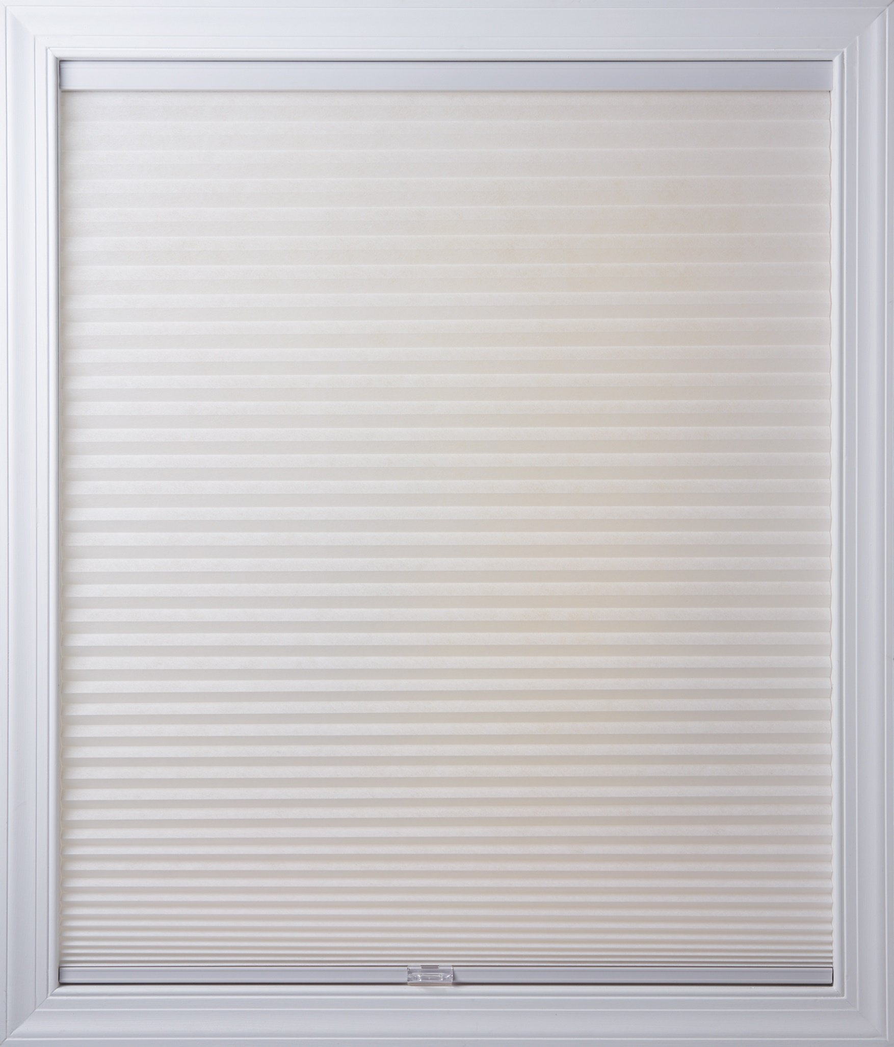 New Age Blinds Light Filtering Inside Frame Mount Cordless Cellular Shade 21-1/4 x 72-Inch Cotton by New Age Blinds