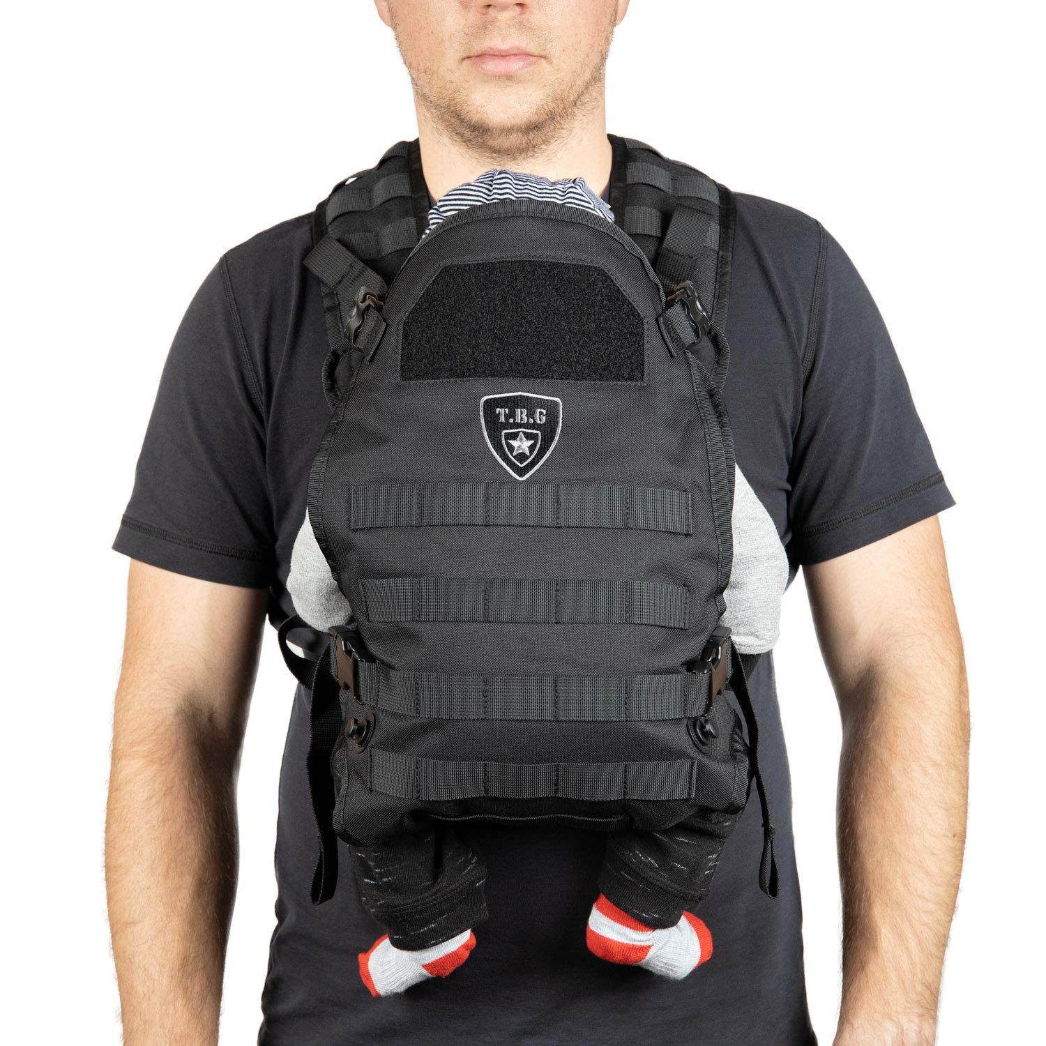 TBG Tactical Baby Carrier (Black)
