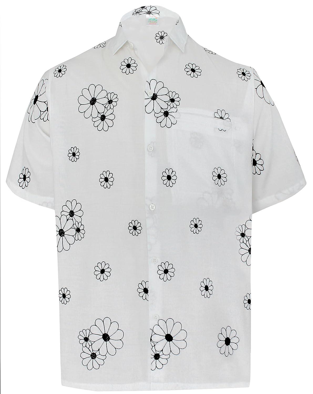 20519b3c Online Cheap wholesale LA LEELA Button Down Short Sleeve Casual Pocket  Hawaiian Aloha Beach Shirts for Mens Hawaii Casual Button-Down Shirts  Suppliers