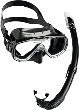 Cressi Unisex Onda Mare Snorkelling Packages Black One Size