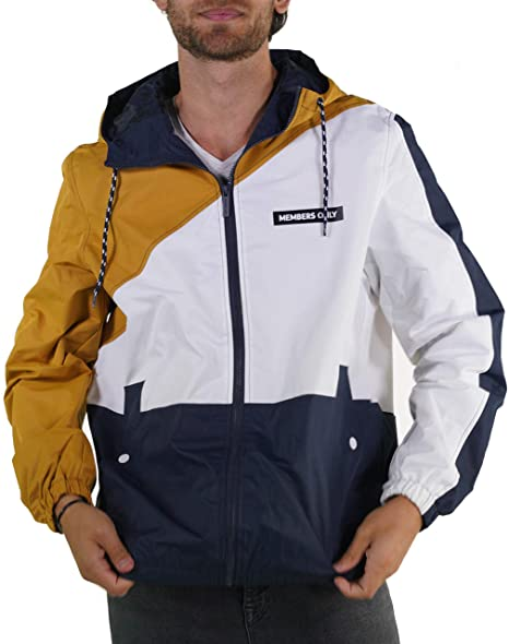 Amazon.com: Members Only Asym Color Block - Chaqueta ...