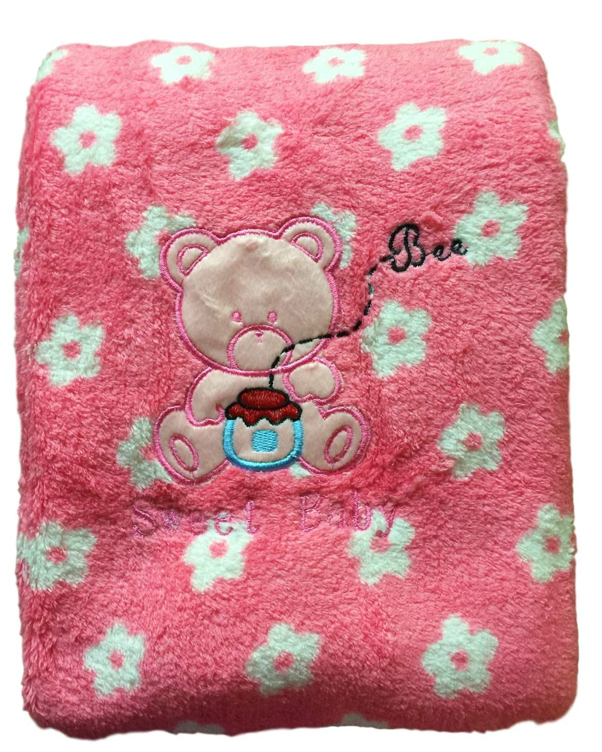 Multiple Designs and Themes Sherpa Backing Baby Blankets For Girls Anti-Pilling Warm and Cozy Teddy Extra Soft Micro Plush Fleece Blanket
