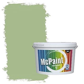 Mcpaint Bunte Wandfarbe Matt Fur Innen Bambusgrun 5 Liter Weitere Grune Farbtone Erhaltlich Weitere Grossen Verfugbar