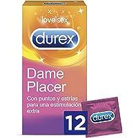 Durex Preservativos Dame Placer con Puntos y Estrías