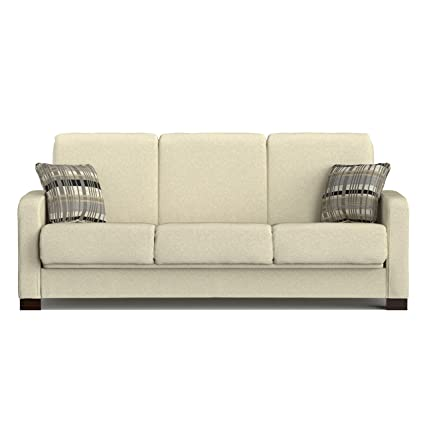 Latest Handy Living Trace Convert a Couch Ivory Chenille Futon Sofa Sleeper Awesome - Best of handy living convert-a-couch sleeper sofa For Your House