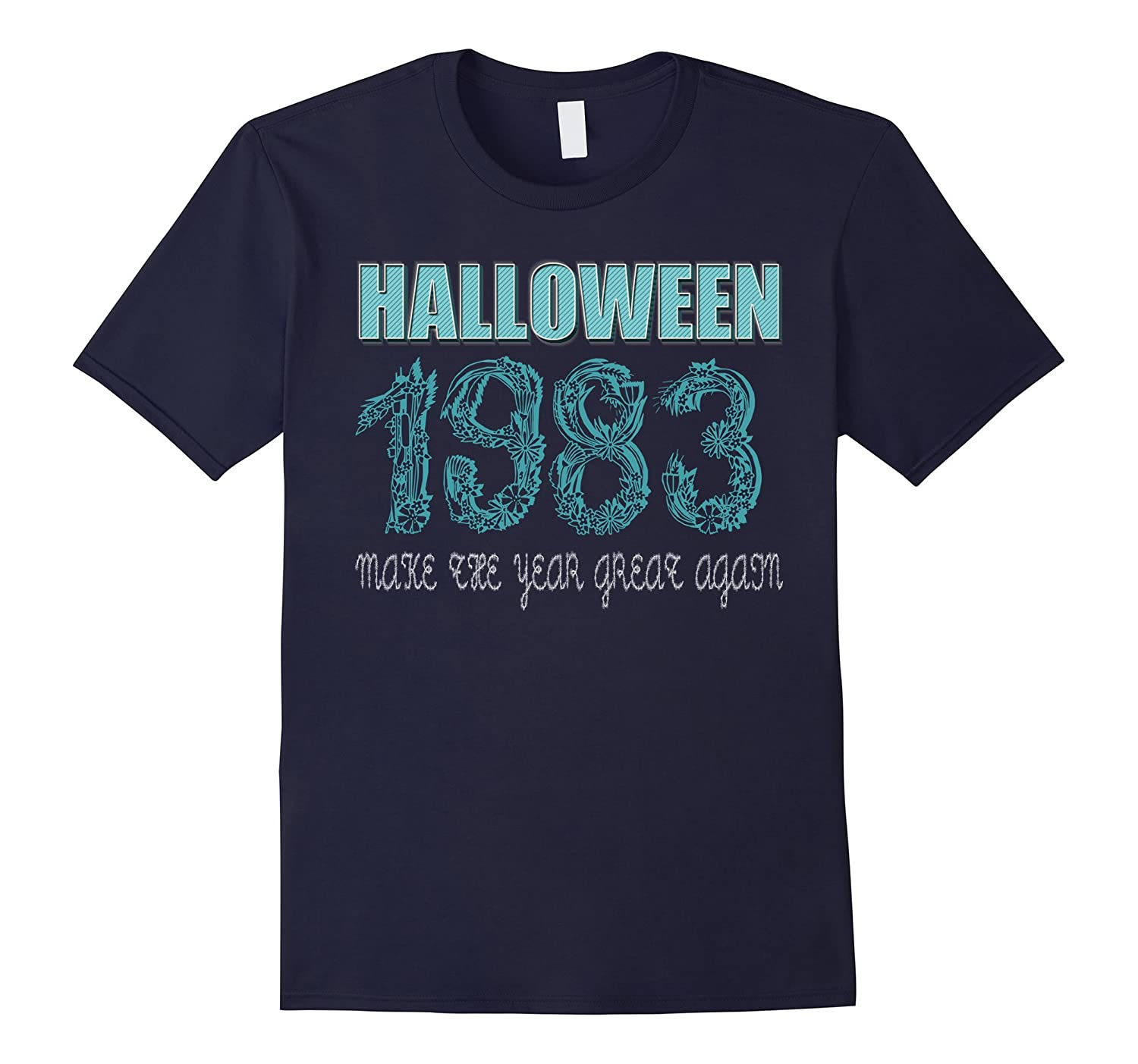 34 th Birthday shirt Halloween costume ideas 1983 T-shirt-FL