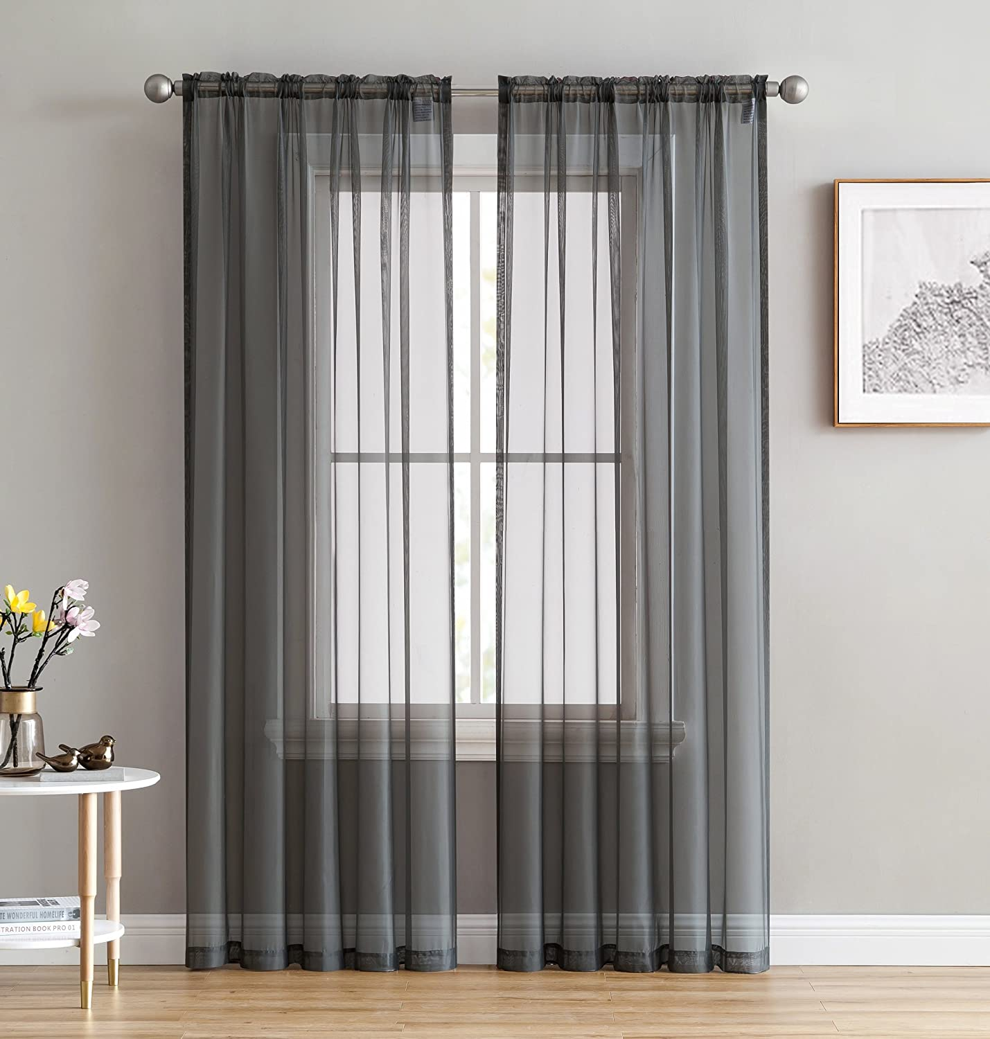 curtains grommet voile ma brylanehome curtain brylane studio decor sheer