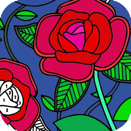 Coloring Flowers By Number
