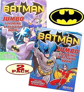 Amazon.com: BATMAN Coloring and Activity Book Set (2 Coloring ...
