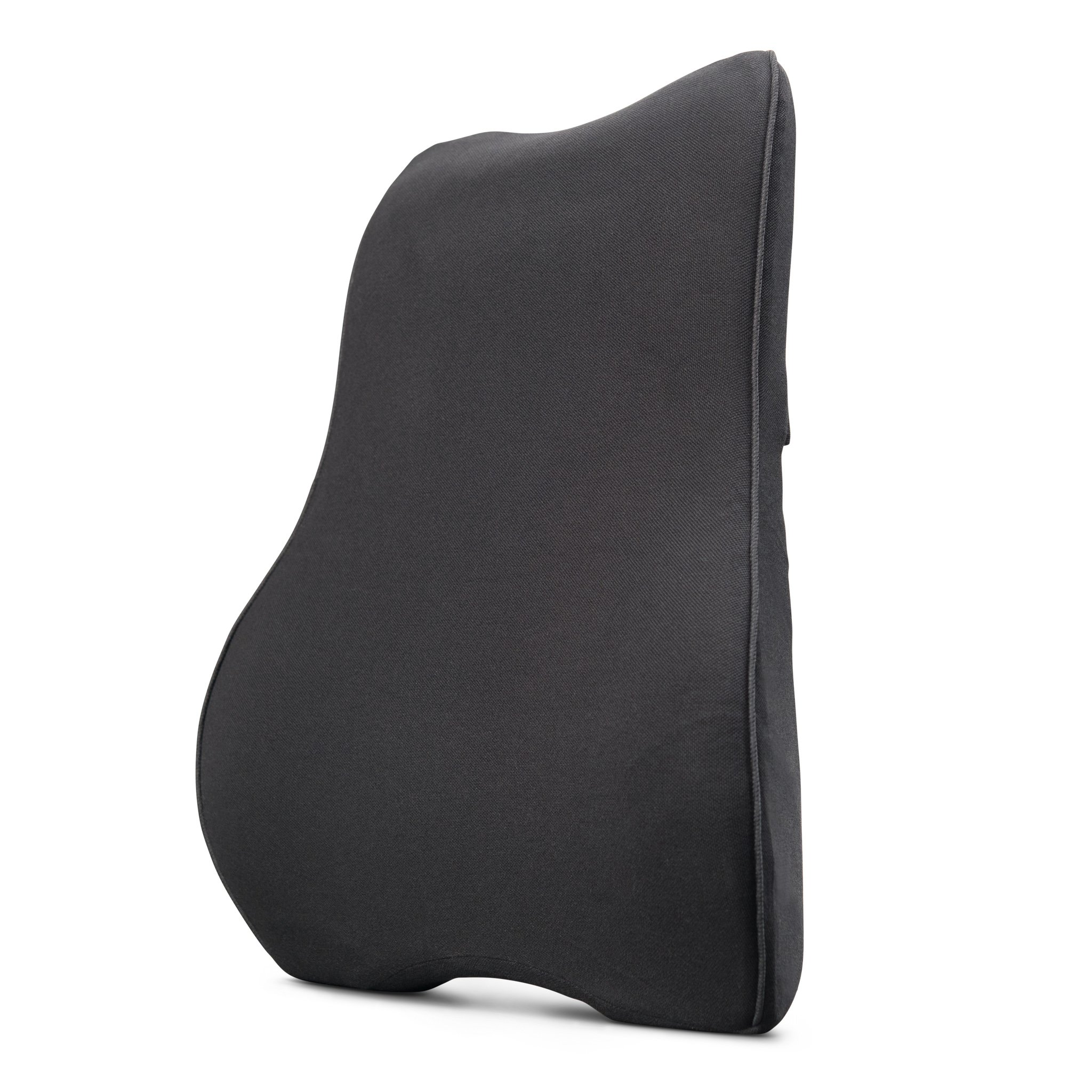 Glacial Back Support Cushion - Memory Foam Lumbar Pillow for Lower Back Pain Relief - Use on Any Chair in The Office, Home, Car - Ergonomic Design