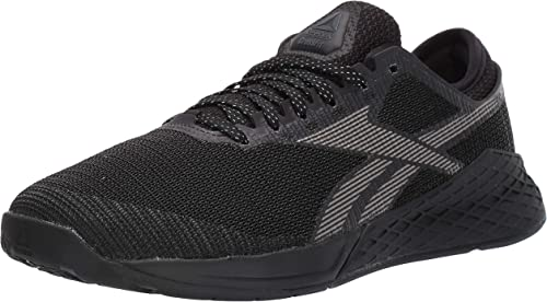 reebok mens trainers black