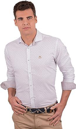 La Española Camisa con Estampado de Cachemir: Amazon.es: Ropa ...