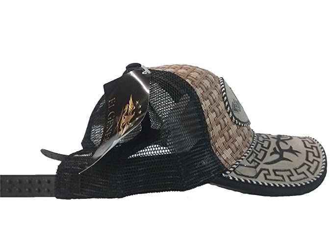 Gorra Charra Western Cowboy ID 103 GOX2 Negro/Beige at Amazon Mens Clothing store: