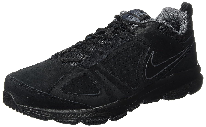 Nike lite XI Nbk, Zapatillas de Gimnasia para Hombre 44.5 EU|Negro (Black/Dark Grey)