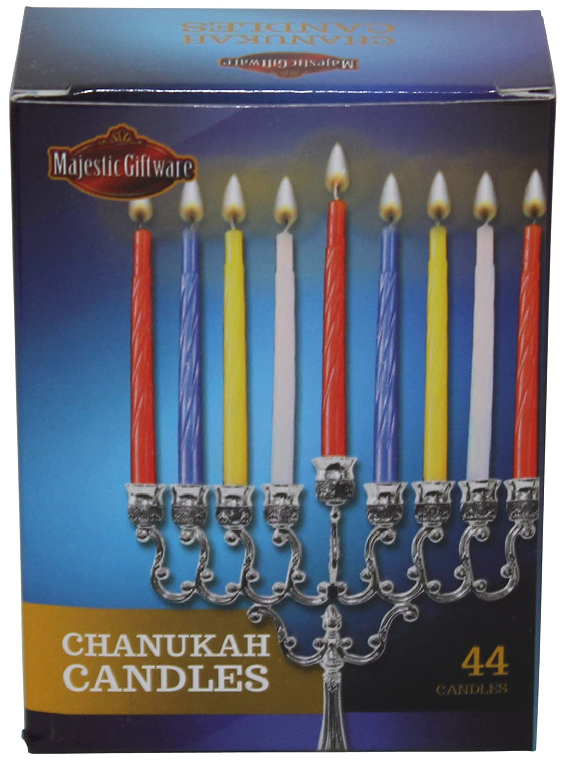 Majestic Giftware CH-C 4 44 Count Chanukah Candles Majestic Giftware Inc.