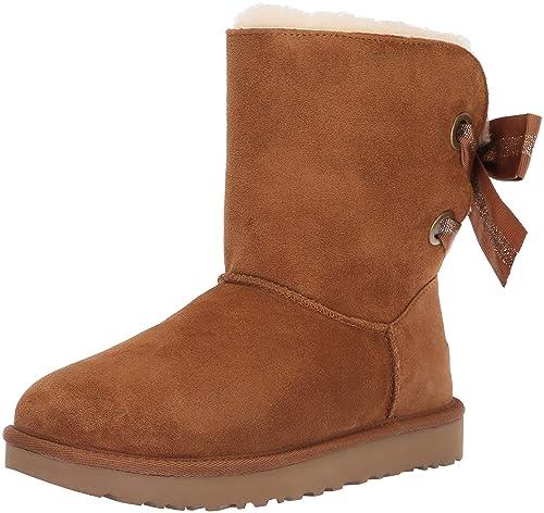 9119cfaafdb UGG Womens W Customizable Bailey Bow Short Fashion Boot